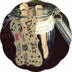 There once was a girl...: For the love of LOVE Date Jar reveal, some ideas included :)