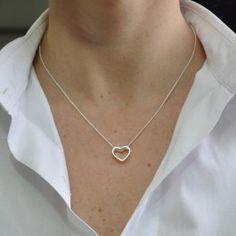 Colar de prata coração - Colares - PRATA - Pratas, Folheados e Bijoux no Atacado  https://atacadoaura.com.br/joias-de-prata/colares-de-prata/colar-de-prata-corac-o.html