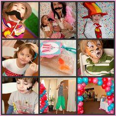 Circus Birthday! Face painting