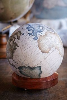 One of the World's Only Globe-Making Studios Celebrates the Ancient Art of Handcrafted Globes - My Modern Met