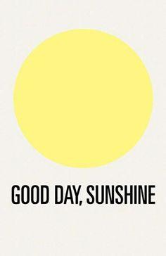 Good day, Sunshine. Decor