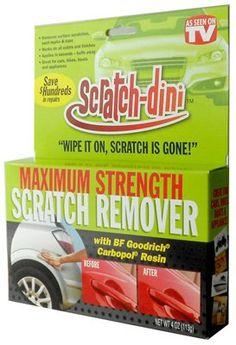 Scratch-Dini Remover 4 oz As Seen On TV http://www.amazon.com/dp/B00GWLK6OG/ref=cm_sw_r_pi_dp_NkO.ub1XQCGYH