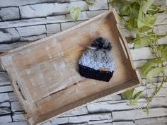 Excited to share this item from my #etsy shop: Newborn Wool Hat, Chunky Knit Baby Hat, Wool Baby Toque, 100% Wool Baby Hat, Unique Baby Gift, Baby Hat with Fur Pom Pom, Baby Boy Gift Pom Pom Baby, Fur Pom Pom, Unique Baby Gifts, Baby Boy Gifts, Baby Hats Knitting, Knitted Hats, Baby Needs, Newborn Gifts, Wool