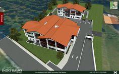 Maquette virtuelle 3D interactive du Programme VEFA Lauburu à Hendaye