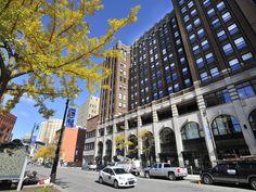 The Albert Apartments, designed by iconic Detroit architect Albert Kahn