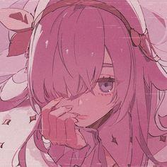 Manga Kawaii, Kawaii Art, Kawaii Anime Girl, Emo Anime Girl, Anime Girl Pink, Cute Anime Character, Character Art, Character Design, Aesthetic Art