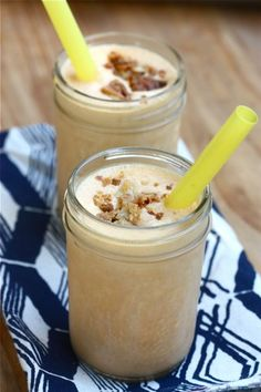 Pumpkin Pie Milkshake from A Cozy Kitchen--toss a slice of pie in the blender?  Use Pumpkin Ice Cream?  Eat a stuffing sandwich?  all kinds of crazy ideas here!