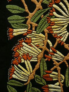 Merelyn Pearce.  (Winner of The Quilters' Guild of NSW Sydney Quilt Show 2011) 'Preston Dreaming'