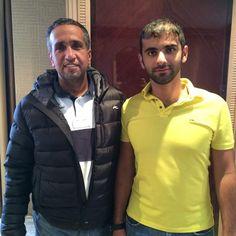 with Sheikh Mansoor