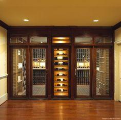 Gallagher Custom Wine Cellar