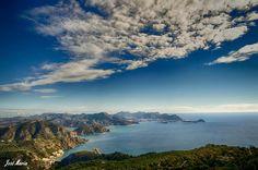 Cartagena desde el monte Roldán, España. Spain. Cabo, Cartagena Spain, Costa, Clouds, Water, Holiday, Outdoor, Gripe Water, Outdoors