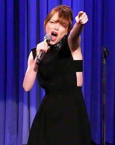Emma Stone Beats Jimmy Fallon in Lip Sync Battle on Tonight Show: Clip - Us Weekly
