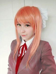Monika From Doki Doki Literature Club  Uploaded by: @Kastarri
