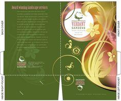 free illustrator templates company folder brochures - Free Adobe Illustrator Templates