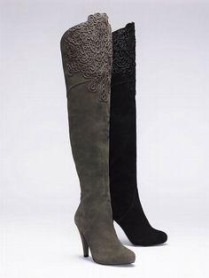 Colin Stuart Embroidered Suede Boot #VictoriasSecret http://www.victoriassecret.com/sale/shoes/embroidered-suede-boot-colin-stuart?ProductID=70792=OLS?cm_mmc=pinterest-_-product-_-x-_-x
