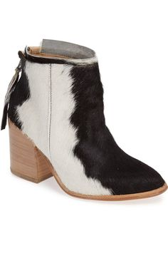 Sassy Cowhide Ankle Boots - COWGIRL Magazine