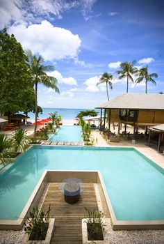 Main Pool @ Anantara Rasananda Resort, Koh Phangan, Thailand.