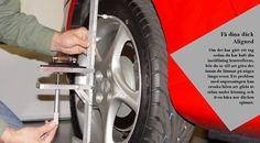 Kontrollera däcken Oavsett vädret är kallt eller våt, kan du vara säker på en sak under de kommande månaderna: vägarna blir hala. Se till att du har en bra mängd trampa på dina däck för att hålla dig på den raka och smala. #vinterdäck