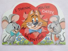 cat valentines day card tumblr