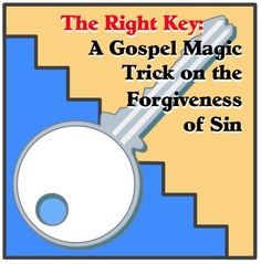 Here is a really fun Gospel Magic Trick to teach your kids that the only way to be freed from the power of sin is by believing on the Lord Jesus Christ. Youth Lessons, Bible Lessons For Kids, Bible For Kids, Sunday School Activities, Bible Activities, Sunday School Lessons, Bible Games, Church Activities, Childrens Sermons