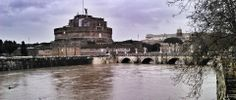 River Tiber - high water February 2014