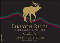 2011 Elkhorn Ridge Vineyards Winery Le Terre Foss Pinot Noir *** Visit the image link more details. (This is an affiliate link) Wine Label, Beer Labels, Willamette Valley, Wine And Beer, Cabernet Sauvignon, Pinot Noir, Program Design, Red Wine, Vineyard