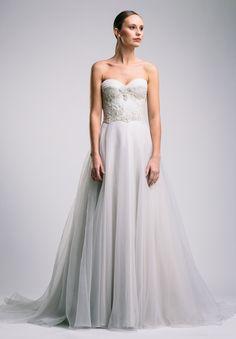 Simple wedding gown - Suzanne Harward