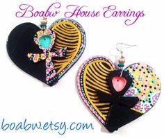 Lovely Ankh Earrings by BOABW on Etsy, $22.00