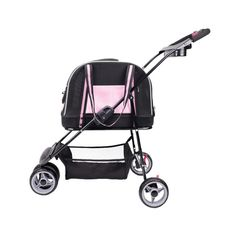 A pet stroller that fits all your needs. It can be used as a stroller, a carrier, and attach it to carry-on luggage. Collapsible design and sturdy EVA bottom with high-quality mesh fabric guarantee you the best performance. #petpram #petstroller Dog Stroller, Baby Strollers, Puppy Nursery, Pet Travel, Dog Carrier, Pet Carriers, Cool Pets, Dog Accessories, Dog Bed