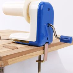 Blue DIY Hand Operated Yarn String Ball Skein Knitting Wool Winder Machine Tool >>> Be sure to check out this awesome product.