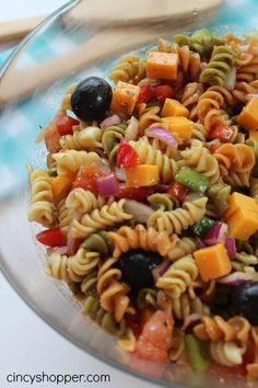 Pasta Salad with Balsamic Vinaigrette Recipe - CincyShopper