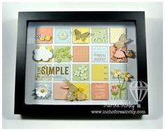 Inch of Creativity: Easter Shadow Box!