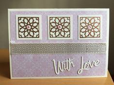Moroccan Tiles, Paper, Creative, Projects, Stamps, Cards, Inspiration, Home Decor, Ideas