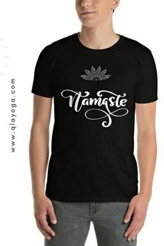 Namaste Shirt, Namaste tshirt, Yoga Sweatshirt, Meditation Tee, Mindfulness Clothes, Zen Design, Yoga Mantra Good Vibes, Lotus Mudra Mandala Zen Design, Yoga Mantras, Namaste Yoga, Good Vibes, Lotus, Meditation, Mandala, Mindfulness, Unisex