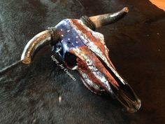 Deer Skull Decor, Painted Animal Skulls, Cow Skull Art, Cow Art, Crane, Skulls For Sale, Antler Art, Skull Painting, Bull Skulls
