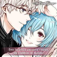 Eres la única #ShuOumaGcrow #Anime #Frases_anime #frases