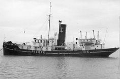 Bateau pilote de la Gironde  - 1940