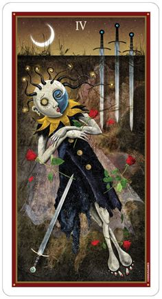 Deviant Moon Tarot by Patrick Valenza Published by U.S. Games Systems Companion book coming soon!