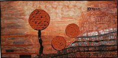 Patchwork obraz - Nerovná cesta / Zboží prodejce Helena P. Tvar, My Works, Quilts, Painting, Scrappy Quilts, Hampers, Comforters, Quilt Sets, Painting Art