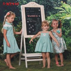 Sweet cute girl three styles spaghetti strap maxi green dresses for girls  contact:moon01@moonyao.com   #GirlClothing #KidsClothing #GirlDress #KidsDress