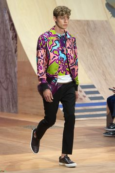 Love ths Print Coach Spring 2016 Menswear - Collection - Gallery - Style.com