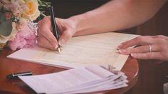 White Balloon Films / Church Wedding / Roxburgh Wedding / Wedding Videographer Scotland / Signing The Register