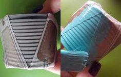 Resultado de imagem para como fazer vasinhos de concreto