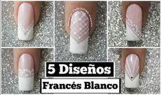 5 Diseños con Frances blanco