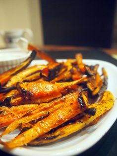 Carrot fries #food #vegan #carrot #fries