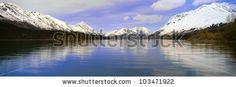 Kenai Lake, Kenai Peninsula, Alaska - stock photo