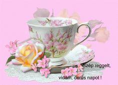 My Prints for Decoupage ~~J Tea Cup Saucer, Tea Cups, Teacup Flowers, Good Morning Good Night, Flower Photos, Morning Coffee, Coffee Time, Coffee Cup, Happy Day