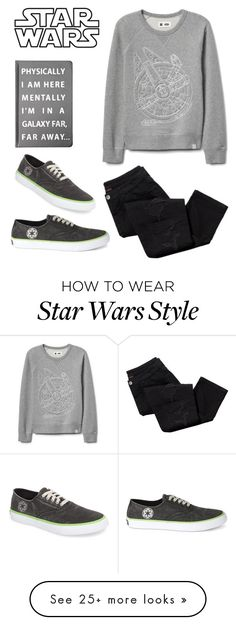 """Star Wars"" by oliviak267 on Polyvore featuring Forever 21, Avon and Sperry"