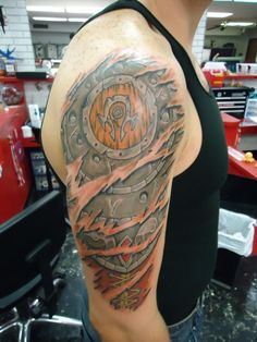 Horde armor ripout by Shady Smith: TattooNOW :