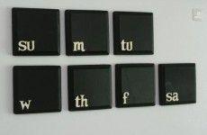 keyboard chalk boards